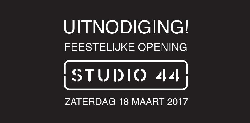 Feestelijke opening Studio 44